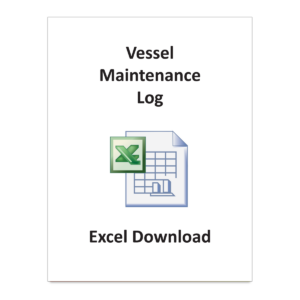 Vessel Maintenance Log - Excel